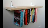 Upside-down-book-shelf